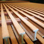 Vật liệu tấm sàn grating có thể ở dang I hoặc kiểu thanh la