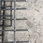 hình liên kết mối hàn của lưới thép hàn bằng phương pháp hàn chập