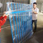 sản phẩm hàng rào thép hộp đến tay người tiêu dùng