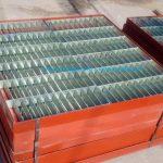Nắp hố ga thép kích thước lớn có khung bao sơn chống rỉ
