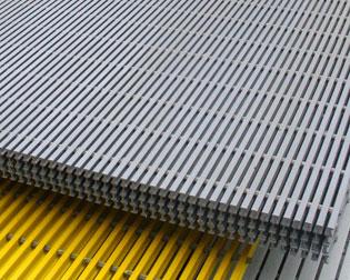 vật liệu frp grating hay còn gọi là composite grating