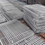 lồng lưới thép làm từ các tấm lưới thép hàn
