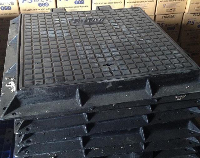 Nắp hố ga chất lượng đòi hỏi chất liệu tốt và tính thẩm mỹ cao